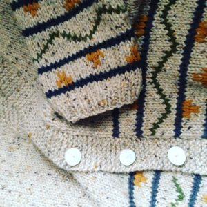 Chaqueta que tejiendo con 20 años
