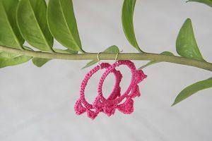 Pendientes de crochet Accesorios de moda