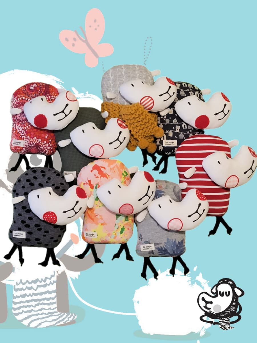 La oveja Nomada de Las Hidalgas en el Reto hilandia