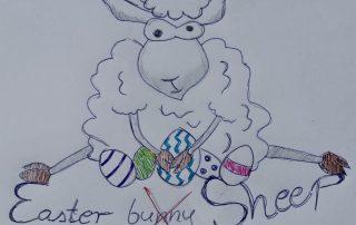Easter Sheep Reto Hilandia